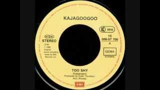 Kajagoogoo  Too Shy Vinyl 1983