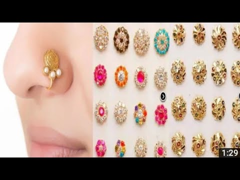 Beautiful Nose Pins Design S Gold And Diamond Nose Rings