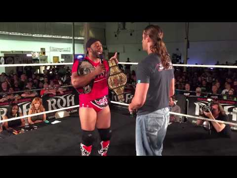 Kevin Kelly interviews Stevie Richards & its interrupted by Jay Lethal - 8/29/15 Atlanta, Ga