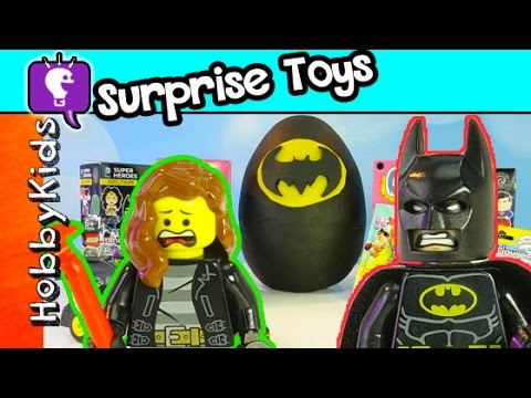 Lego Trixie and PlayDoh Batman Surprise Egg - YouTube