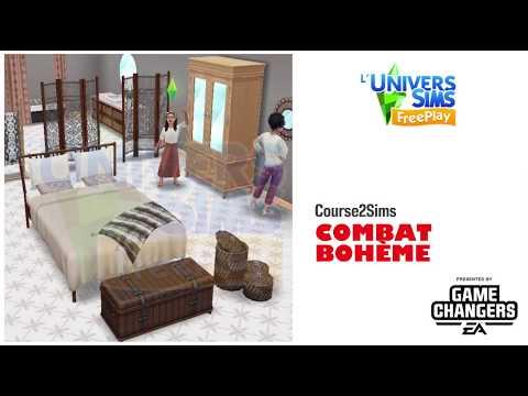 The Sims Freeplay-Combat Bohème -Accès Anticipé