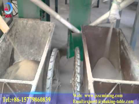 ziron ore process beneficiation electric separation plant video