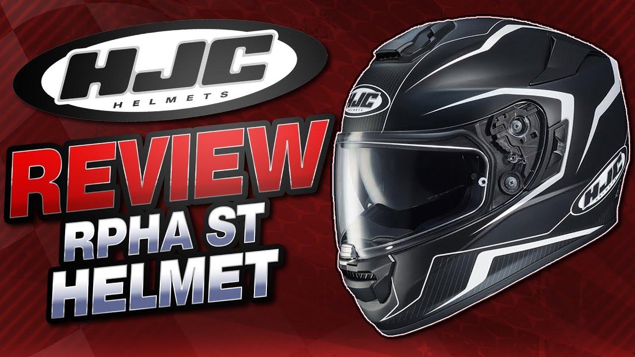 HJC RPHA ST Helmet Review from Sportbiketrackgear.com - YouTube 75e93126737b5