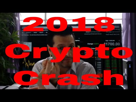 Cryptocurrency Market Crash 2018 - RICH TV LIVE & David Moad