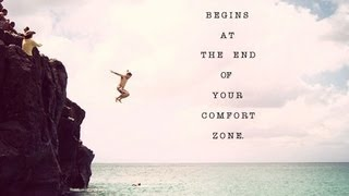 How to step out of your comfort zone by and just be yourself