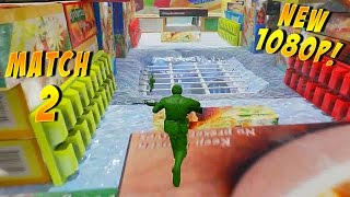 The Mean Greens: Plastic Warfare Gameplay: Freezer War Zone! - Part 2 - (PC Multiplayer 1080p)