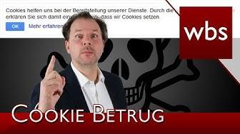 Cookie-Warnungen werden für Klickbetrug eingesetzt | Rechtsanwalt Christian Solmecke