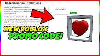 NEW ROBLOX INSTAGRAM HEART PROMO CODE! [MAY 2019]