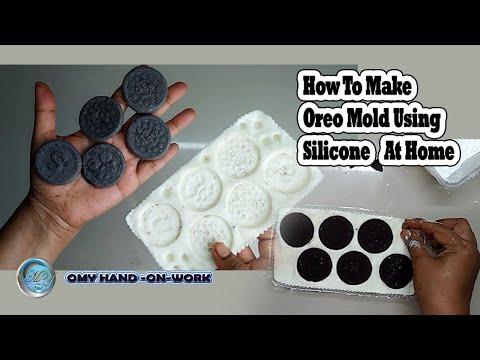 how-to-make-oreo-mold-using-silicone-at-home-|diy-silicon-mold