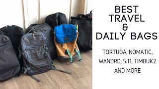 Best Travel / Daily Bags: Tortuga Setout Divide, Wandrd Prvke, 5.11 Ra