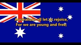 National anthem of Australia - Advance Australia Fair (lyrics)