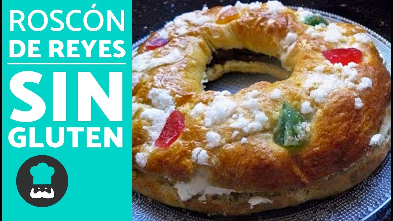 Roscón De Reyes Sin Gluten Fácil Receta De Roscón De Reyes Súper Esponjoso Youtube