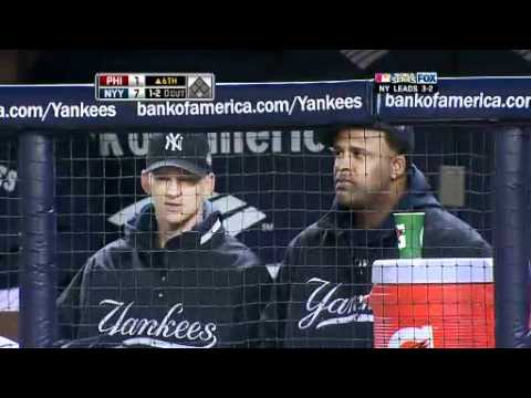 WORLD SERIES GAME 6 - YANKEES WIN SERIES, 4-2 - November 04,