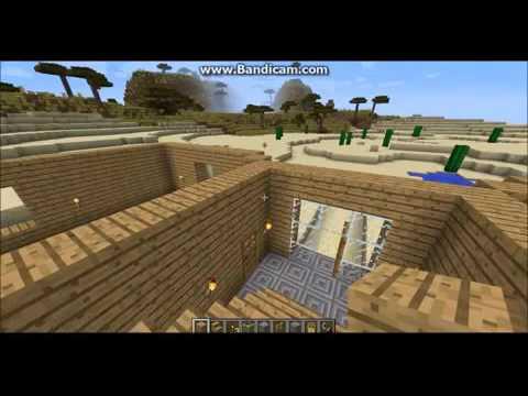 Come costruire una casa bellissima in minecraft la grande for Come costruire una villa