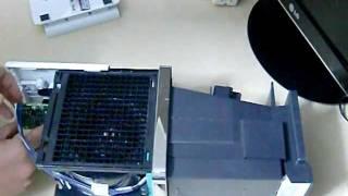 プラズマクラスターイオン発生機 IG-B100 パーソナルタイプ 組立て