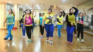 "Gambar cover Dangdut ""Jaran Goyang"" (Nella Kharisma) Dance for Fitness and Fun Part 3"