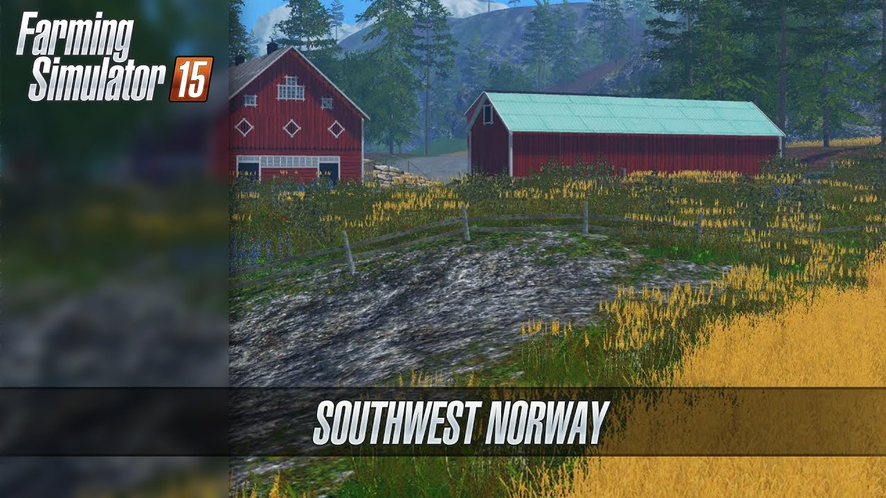 SouthWest Norway Map Farming Simulator ᴴᴰ YouTube - Norway map farming simulator 2015