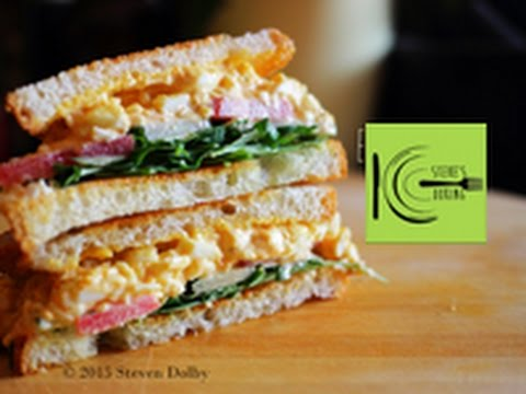 Generate Egg Salad Sandwich recipe Images