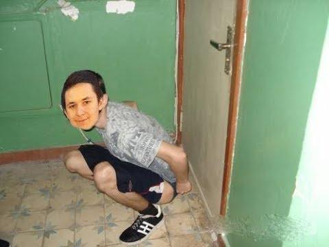 Насрал cen9 под дверь