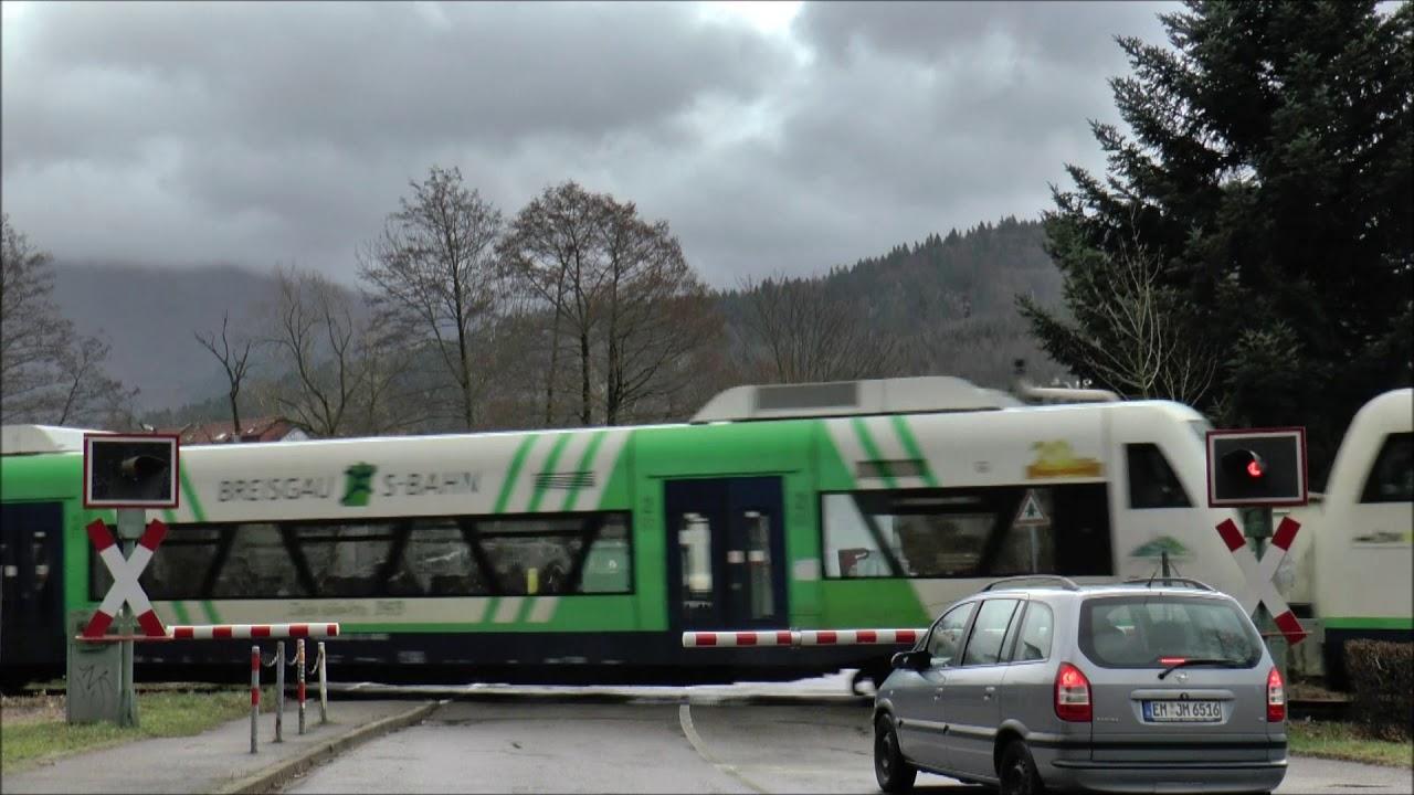 "Bü km 6,200 ""Waldkirch II"" an der Strecke 4311 Denzlingen - Elzach 14.02.2020"