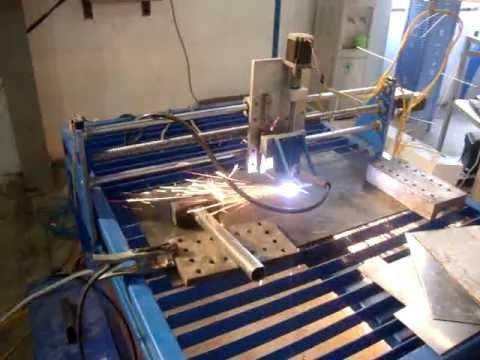 Chế tạo máy cắt CNC Plasma