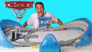 Cars 3 Ultimate Florida Speedway Race Track ! || Toy Review || Konas2002