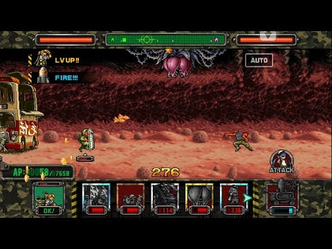 [HD]Metal slug ATTACK. ONLINE!  Secret Card  Deck!!! (2.10.0 ver)