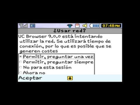 Actualización UC Browser 90.0 - Samsung Chat 335 S3350.