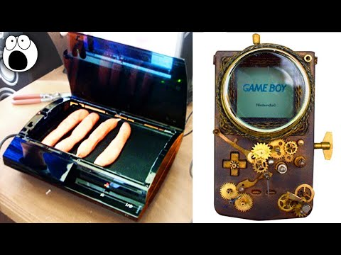 Download Youtube: AMAZING Custom Game Consoles That Will Blow Your Mind!