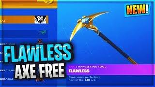 Unlocking LUXE Flawless PICK AXE...