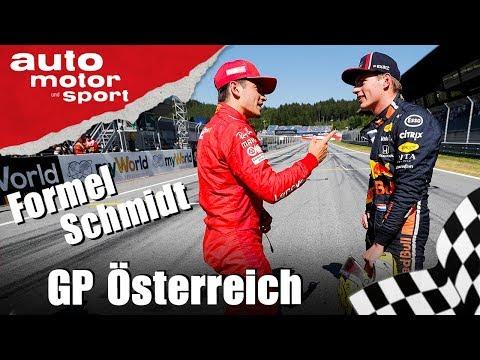 War das sauber, Max? - Formel Schmidt zum GP Österreich 2019 | auto motor und sport