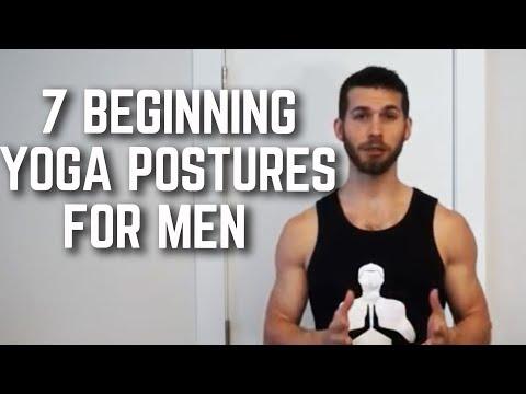 7 Beginning Yoga Postures for Men