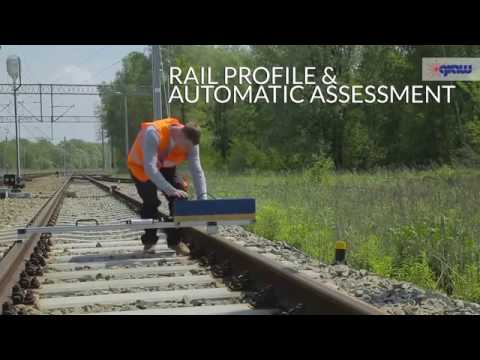 X-Y - Rail and Turnout Profile Gauge