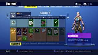 FORTNITE PASSE DE COMBAT SAISON 5 - BATTLE PASS SEASON 5