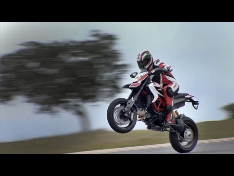 Action & Sound Only | New Ducati Hypermotard-2013 | No Music! | Pure Feeling!