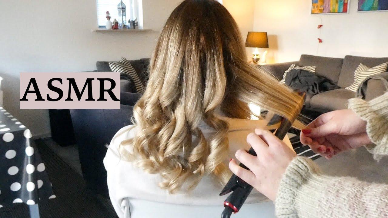 Download ASMR Hair Styling & Hair Play 💆🏼♀️ (Brushing, Curling, Blow Drying, Spraying Sounds, No Talking)