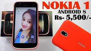 Nokia 1 - Unboxing & Overview In HINDI