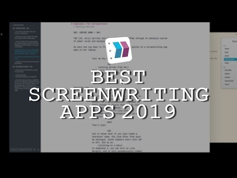 Screenplay writing app for mac