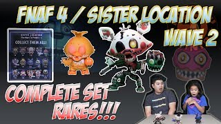 FIVE NIGHTS AT FREDDYS 4 and SISTER LOCATION | FUNKO MYSTERY MINIS | COMPLETE SET | ENNARD | POP