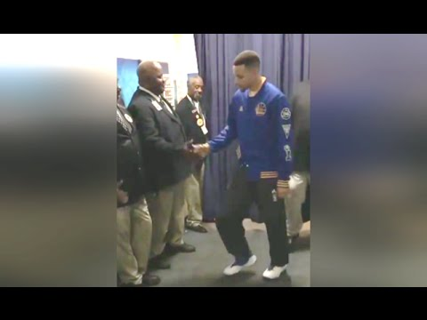630c35142fe Stephen Curry Pre-Game Ritual Dance  BBQ and Foot Massage - YouTube