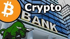 CRYPTO BANK To Be Launched by Barclays Exec - BITCOIN Influencer Coins - Argo Blockchain BTC Mining