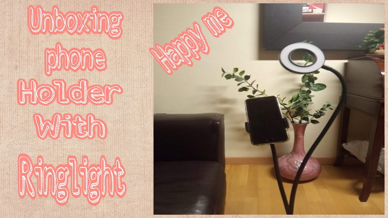 Download Unboxing my phone holder with ring light || Rose palma
