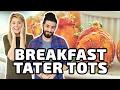 BREAKFAST TATER TOTS!!! w/ Grace Helbig