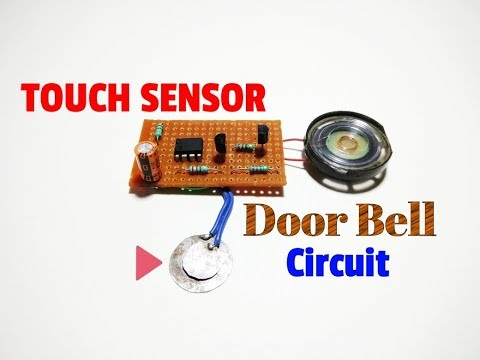 How To Make A Touch Sensor Musical Doorbell Circuit..A Simple Touch Sensor Musical Doorbell..