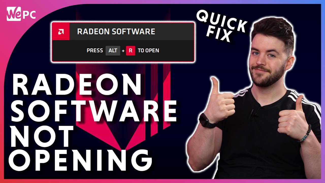 AMD Radeon Settings Not Opening