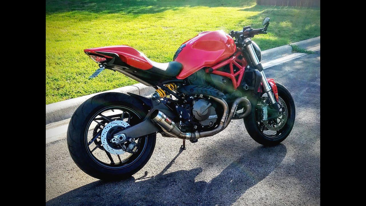 Ducati Monster 821 Mods
