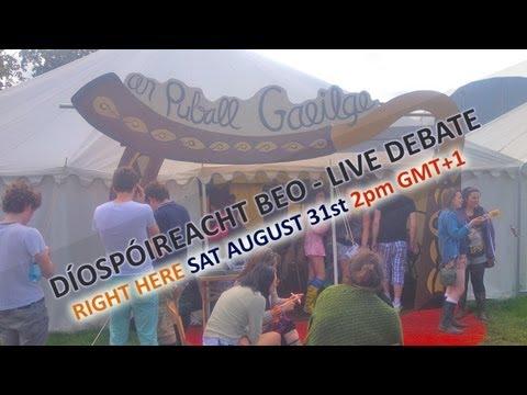 Puball Gaeilge, Electric Picnic live stream Sat 31st August 2pm