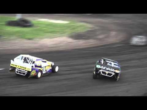 IMCA Sport Mod feature Benton County Speedway 5/8/16