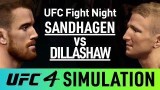 UFC Fight Night - TJ Dillashaw Vs Cory Sandhagen - EA Sports UFC 4 Simulation (CPU Vs CPU)