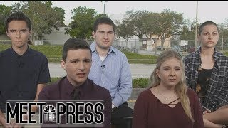Parkland Students: 'How Many More Students Are Going To Have To Die?'   Meeting The Press   NBC News